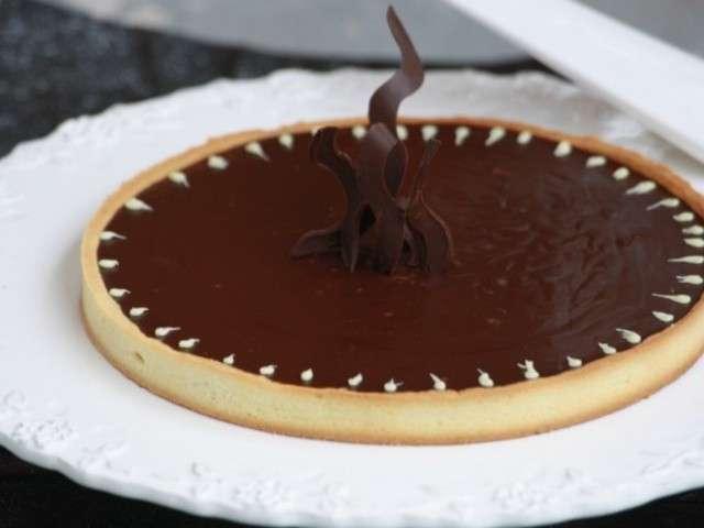 les meilleures recettes de tarte au chocolat et no l. Black Bedroom Furniture Sets. Home Design Ideas