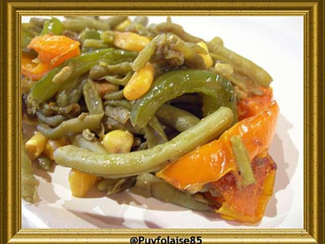 Les meilleures recettes de salades et poivrons 5 - Cuisiner les poivrons verts ...
