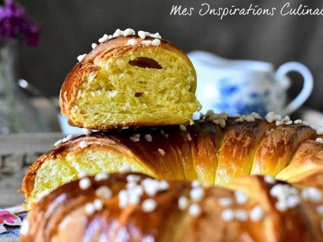 Recettes de brioches et boulangerie - Brioche au beurre maison ...