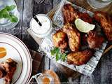 Chicken wings, recette au four