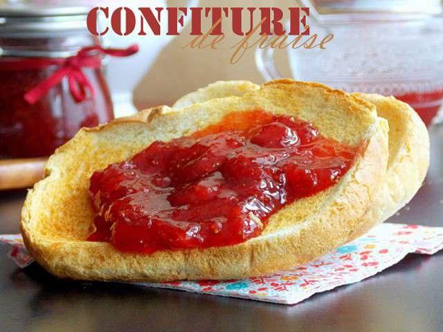Recettes de marmelade et cuisine facile - Confiture de fraise maison ...