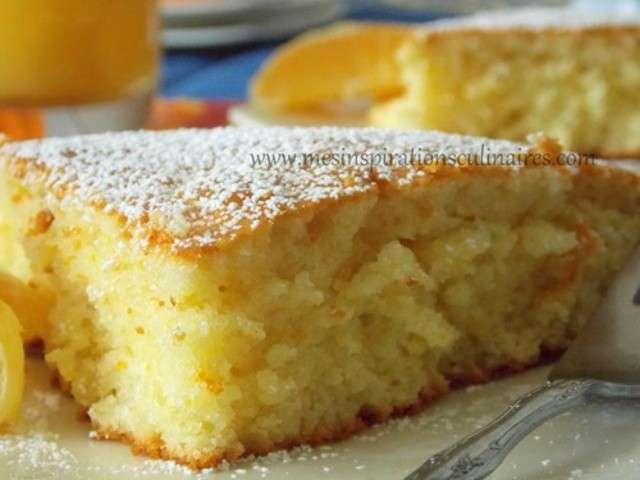 Les meilleures recettes de desserts et orange - Gateau a l orange ...
