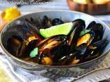 Moules au curry indien