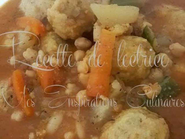 Recettes de boulettes et alg rie for Recette kabyle tikourbabine