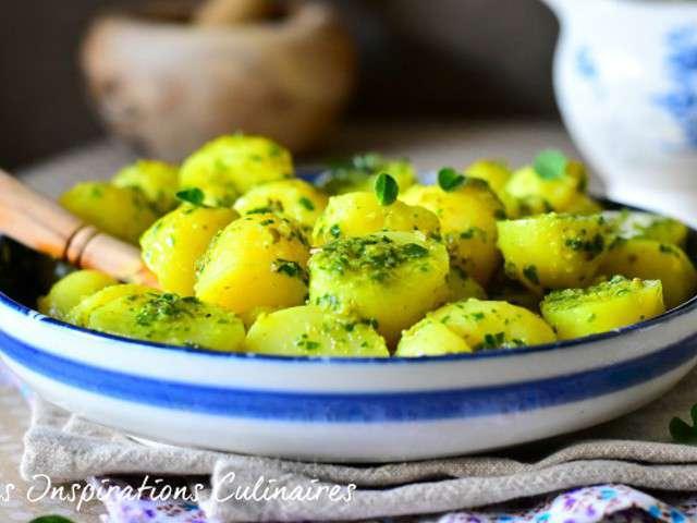 Recettes de salade de pomme de terre for Ver de la salade