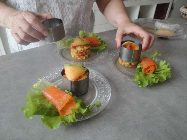 Recettes de melon et entr es for Entree fraiche et rapide