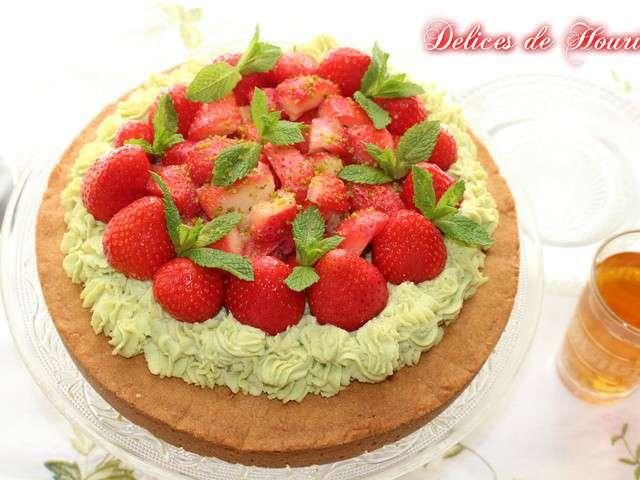 Recettes de tarte aux fraises et mousseline - Une mousseline en cuisine ...