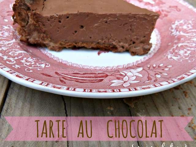 recettes de tarte au chocolat 12