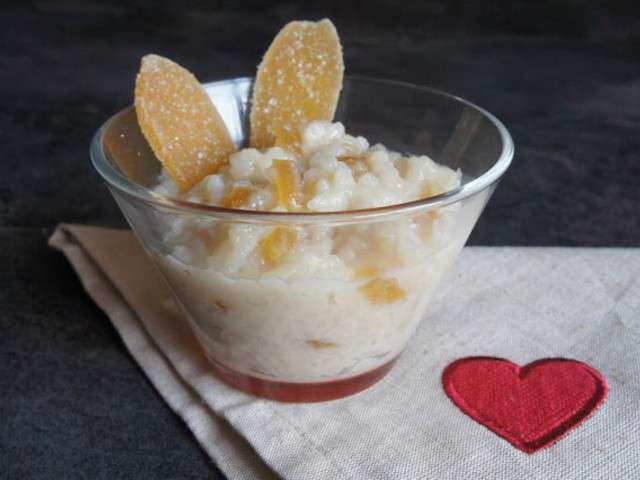 Recettes de riz au lait et noix de coco - Riz au lait de coco ...