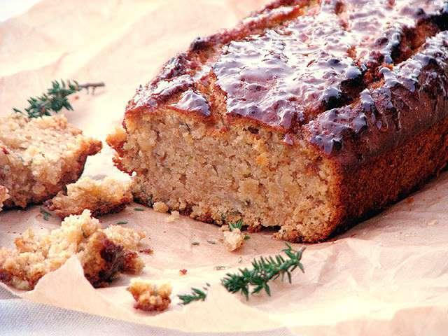 Cake Au Miel Citron Et Thym