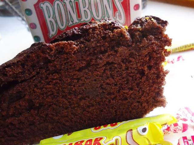 Gateau rapide chocolat carambar
