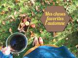 Choses favorites en automne