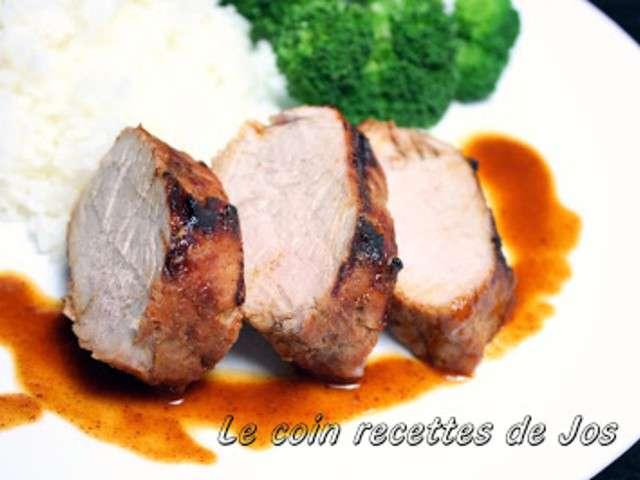 Recettes de filet de porc et bbq - Filet mignon de porc grille au barbecue ...