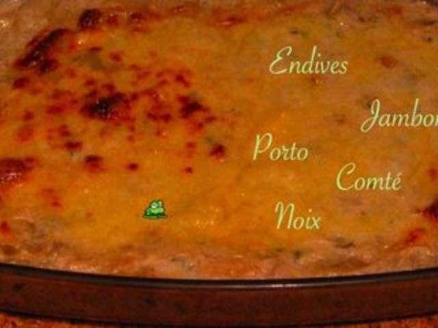 Recettes d 39 endives de le crapaud dans le chaudron - Cuisiner endives au jambon ...