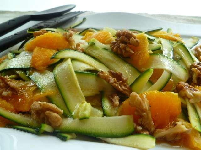 Recettes de salade de courgettes 9 for Eliminer les vers des salades