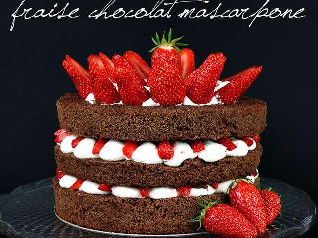 Rainbow Cake Chantilly Et Chocolat