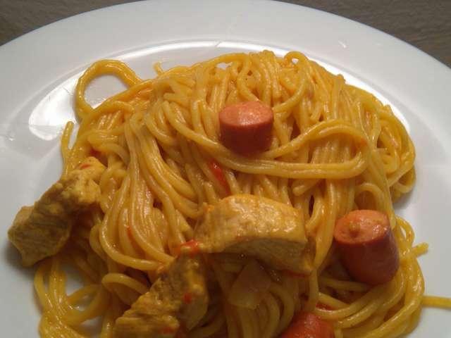 Bien-aimé Recettes d'One pot pasta et Knackis IA27