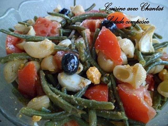 Les meilleures recettes de haricots verts et salades - Cuisiner haricots verts ...