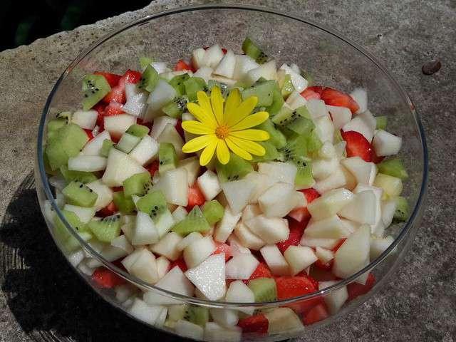 Recettes de salades de le livre des recettes de chantal for Eliminer les vers des salades
