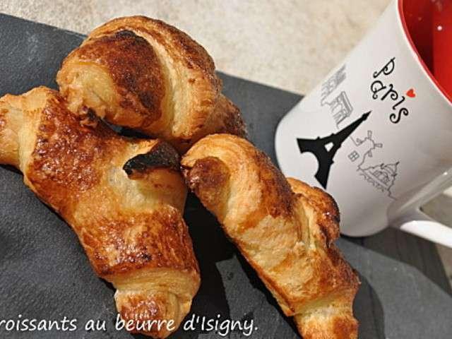 Recettes de beurre de le mas de la gourmandise - Recette croissant au beurre ...