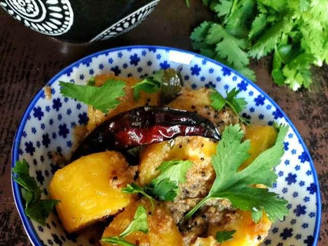 Recettes de bananes et curry - Cuisiner banane plantain ...