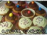 Cupcakes Choco-Coco