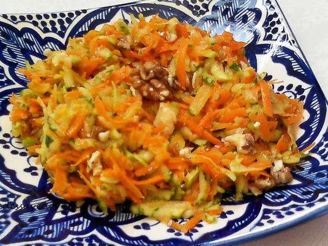 Recettes de salade de concombre et carottes for Eliminer les vers des salades