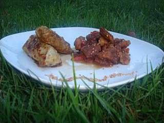 Porc au Caramel et son Nem de Chou aux Petits Légumes