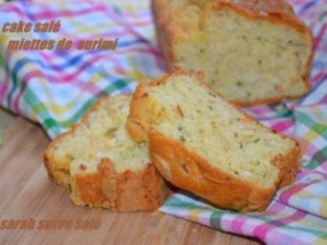 Cake Surimi Mozzarella Marmiton
