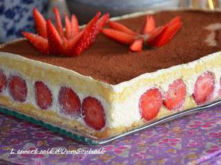 Recettes de mascarpone - Tiramisu fraise sans mascarpone ...