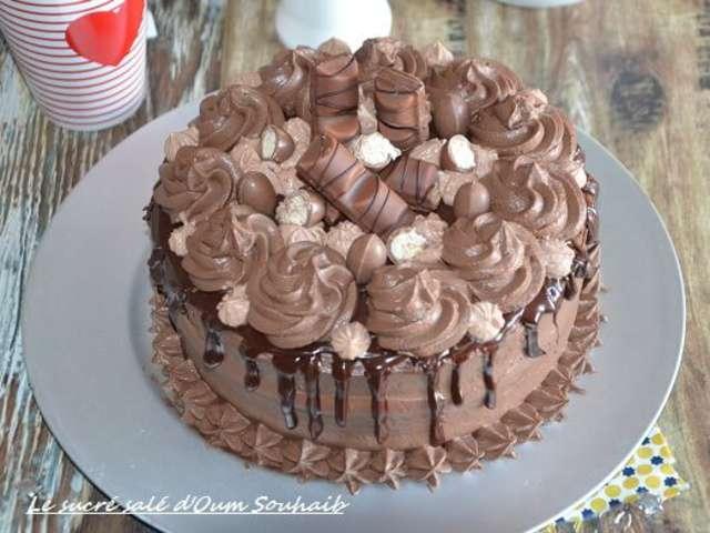 Recette Chef Layer Cake Kinder Bueno
