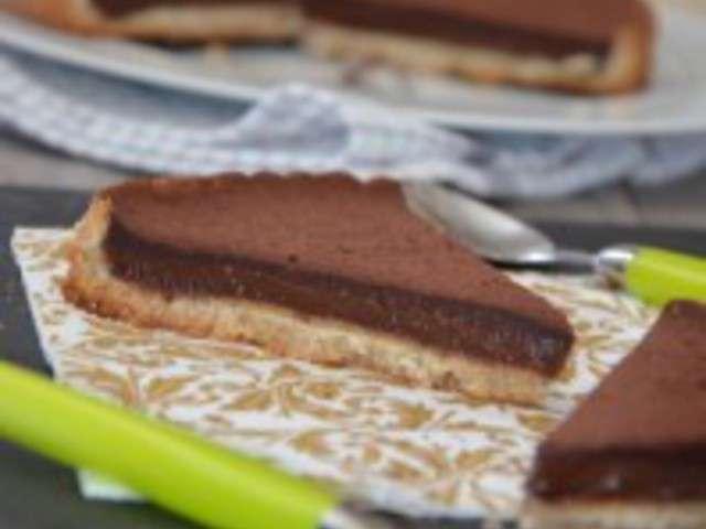 recettes de tarte au chocolat et alg rie. Black Bedroom Furniture Sets. Home Design Ideas