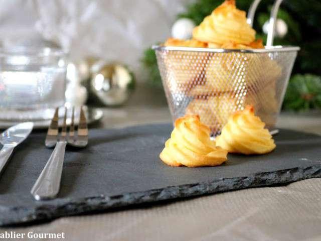 pommes duchesse ou quand la pomme de terre accompagne vos viandes ou poissons de fetes noel. Black Bedroom Furniture Sets. Home Design Ideas