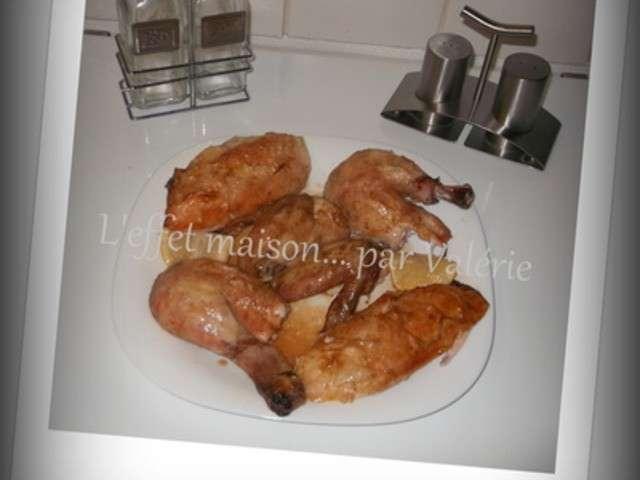 recettes de poulet de leffetmaison par valerie. Black Bedroom Furniture Sets. Home Design Ideas