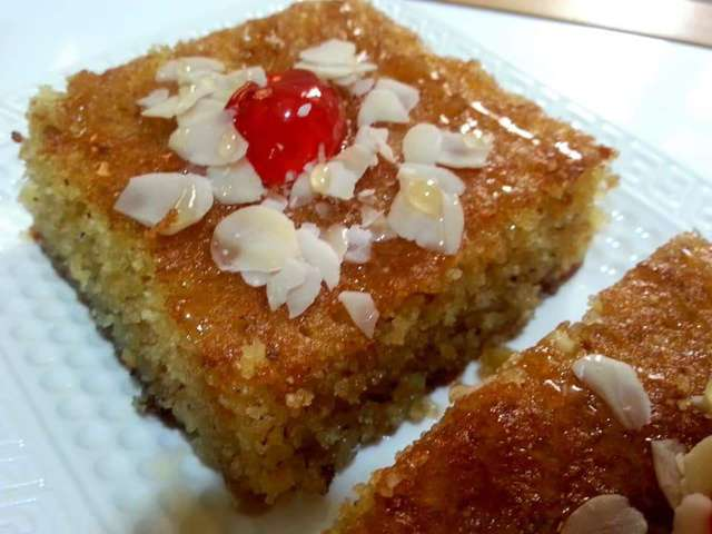 Recettes De Gâteau De Semoule