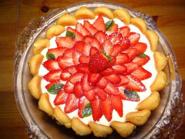 Recettes de charlotte aux fraises - Jeux de charlotte aux fraises cuisine gateaux ...