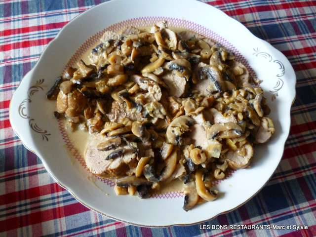 Recettes de Filet Mignon de Porc et Champignons
