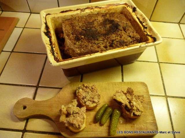 Recettes de foie et porc - Pate de porc maison ...