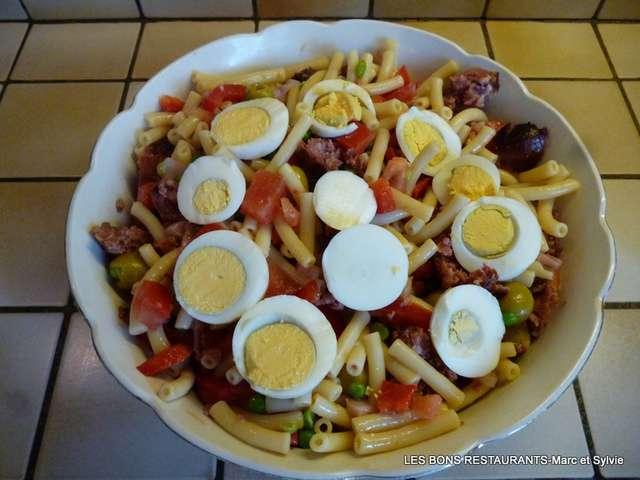 Recettes de salade de p tes et l gumes - Salade d ete composee ...