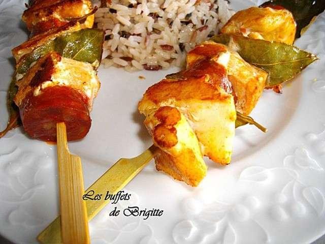 Les meilleures recettes de brochettes et chorizo for Poisson a la plancha