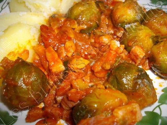 Les meilleures recettes de choux de bruxelles et tomates - Choux de bruxelles recette gratin ...
