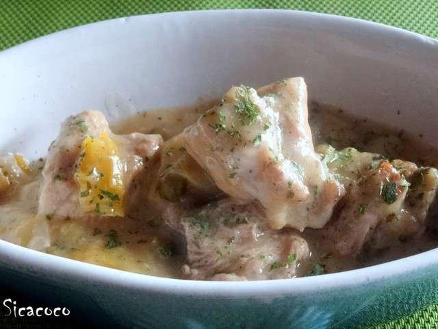 Recettes de rago t et veau - Cuisiner le tendron de veau ...