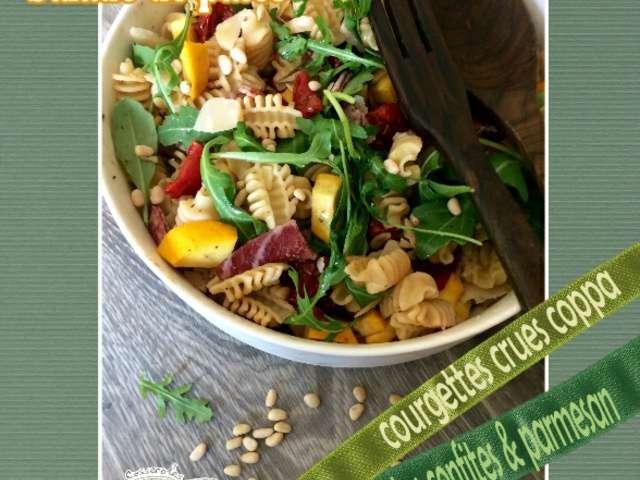 recettes de coppa et salade de p 226 tes