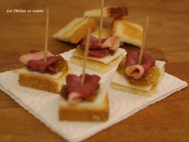 recettes de toasts et magret de canard. Black Bedroom Furniture Sets. Home Design Ideas