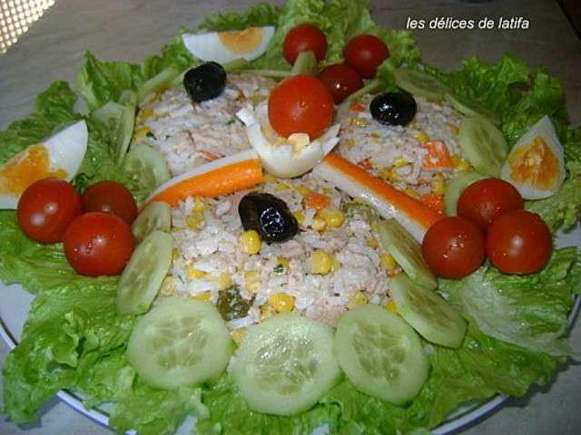 les meilleures recettes de salade de riz et thon. Black Bedroom Furniture Sets. Home Design Ideas