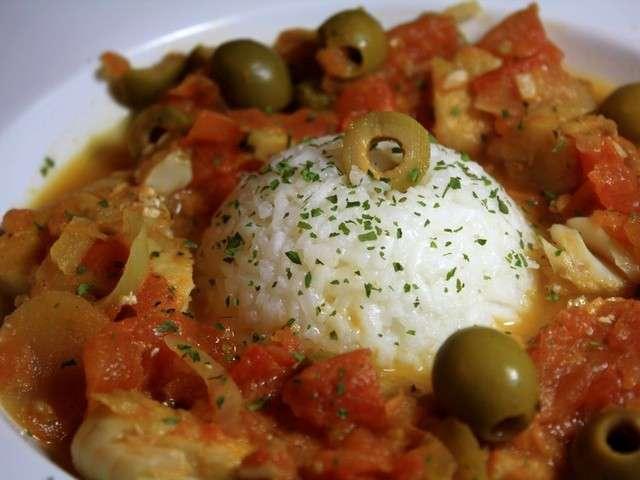 Recettes de colin et olive - Cuisiner du colin surgele ...