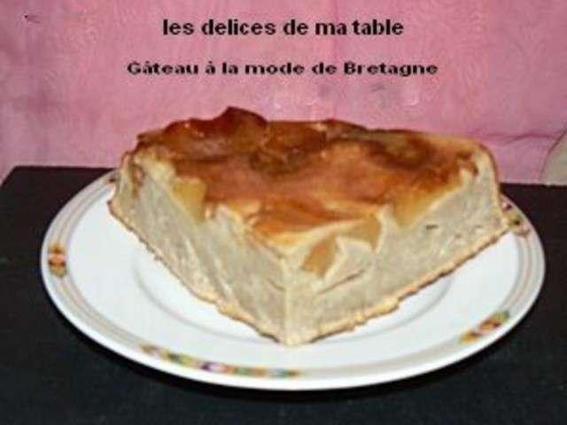 Les meilleures recettes de g teau aux pommes et bretagne - Restaurant la table des delices grignan ...