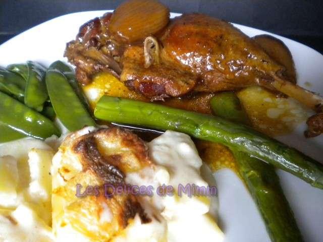 Recettes de miel et canard 10 - Comment cuisiner les cuisses de canard ...