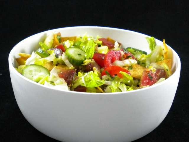 Recettes de Salade libanaise