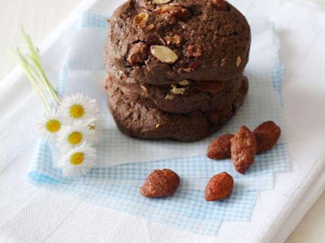 recettes de cookies au chocolat et amande. Black Bedroom Furniture Sets. Home Design Ideas